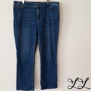 J. Jill Jeans Authentic Med Wash Fit Boot Cut